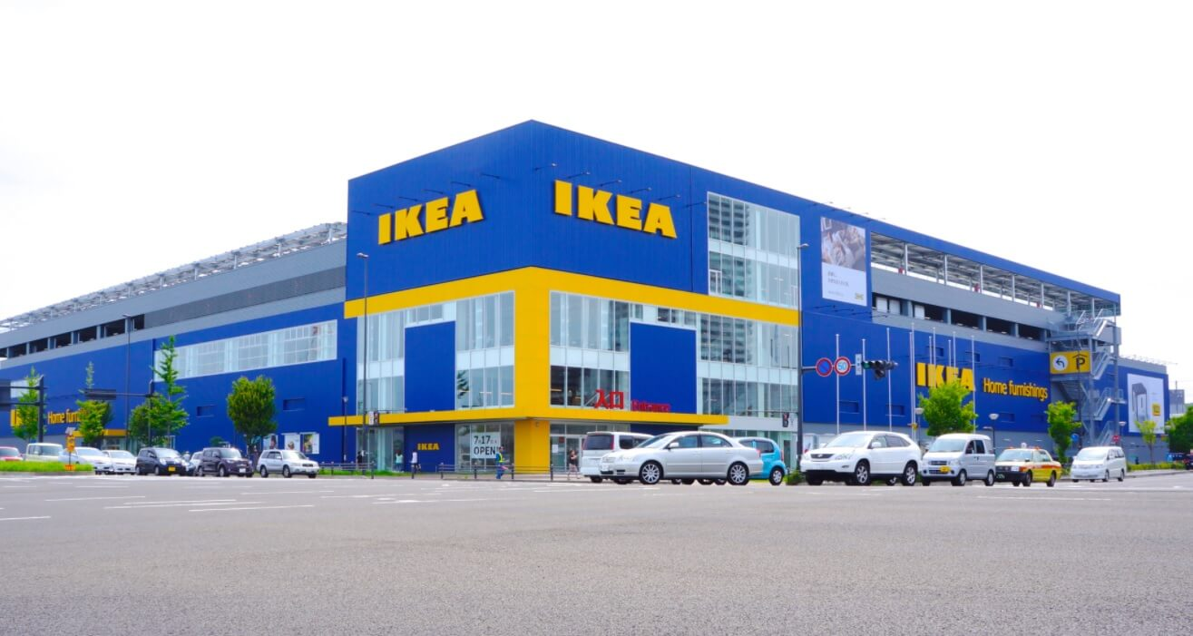 Classic Ikea Storefront